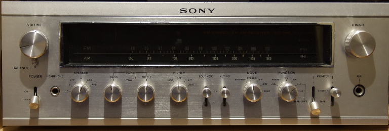 Sony STR-7055 front