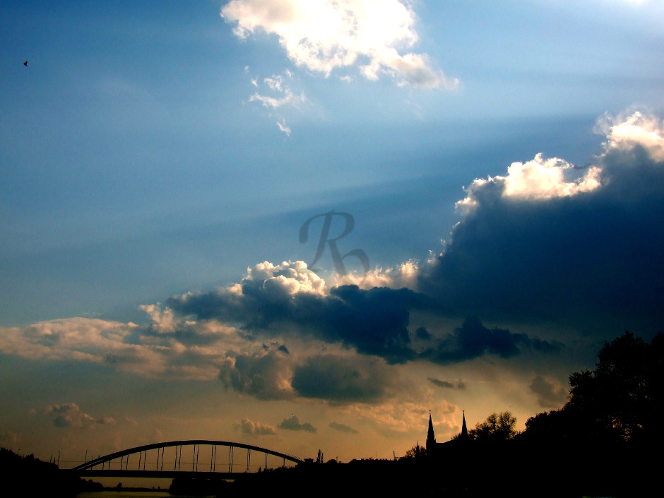 Bridge and Clouds