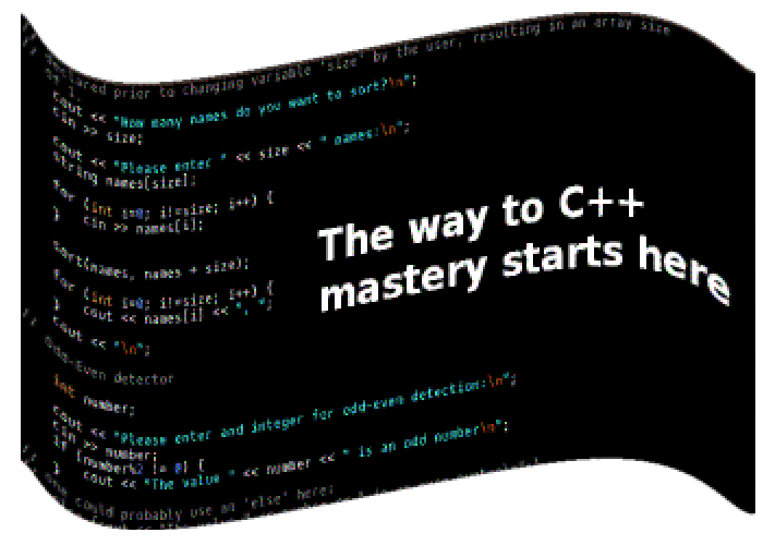 First C++ code