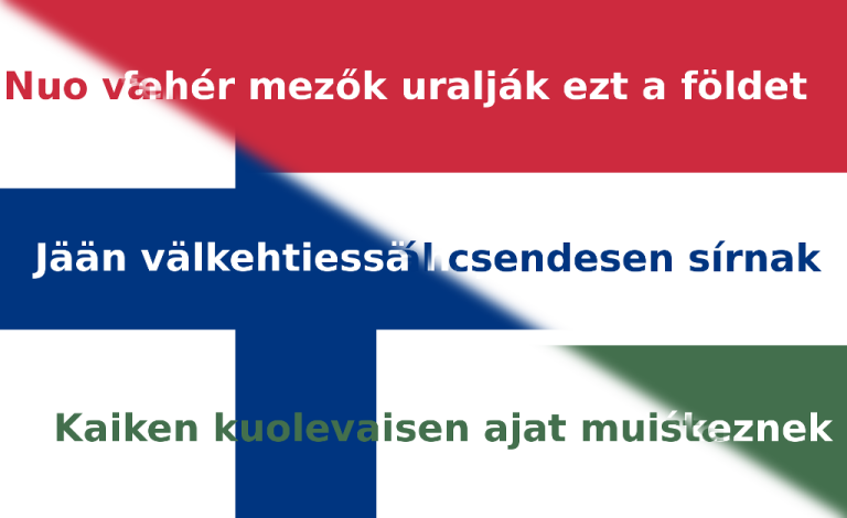 Lyrics translattion flag